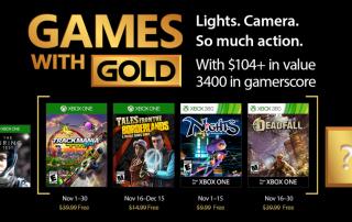 Xbox Live Gold November