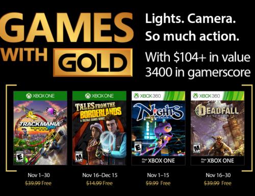 Xbox Live Gold Free Games – November 2017