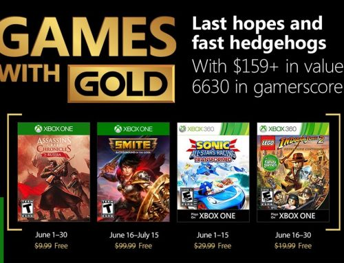 Xbox Live Gold Free Games – June 2018