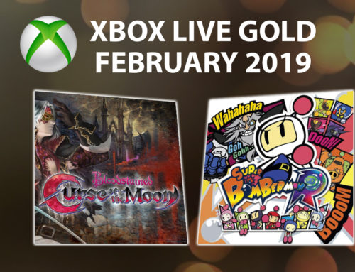 Xbox Live Gold Free Games – February 2019