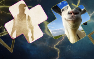 PlayStation Plus free games january 2020 goat simulator uncharted ps4