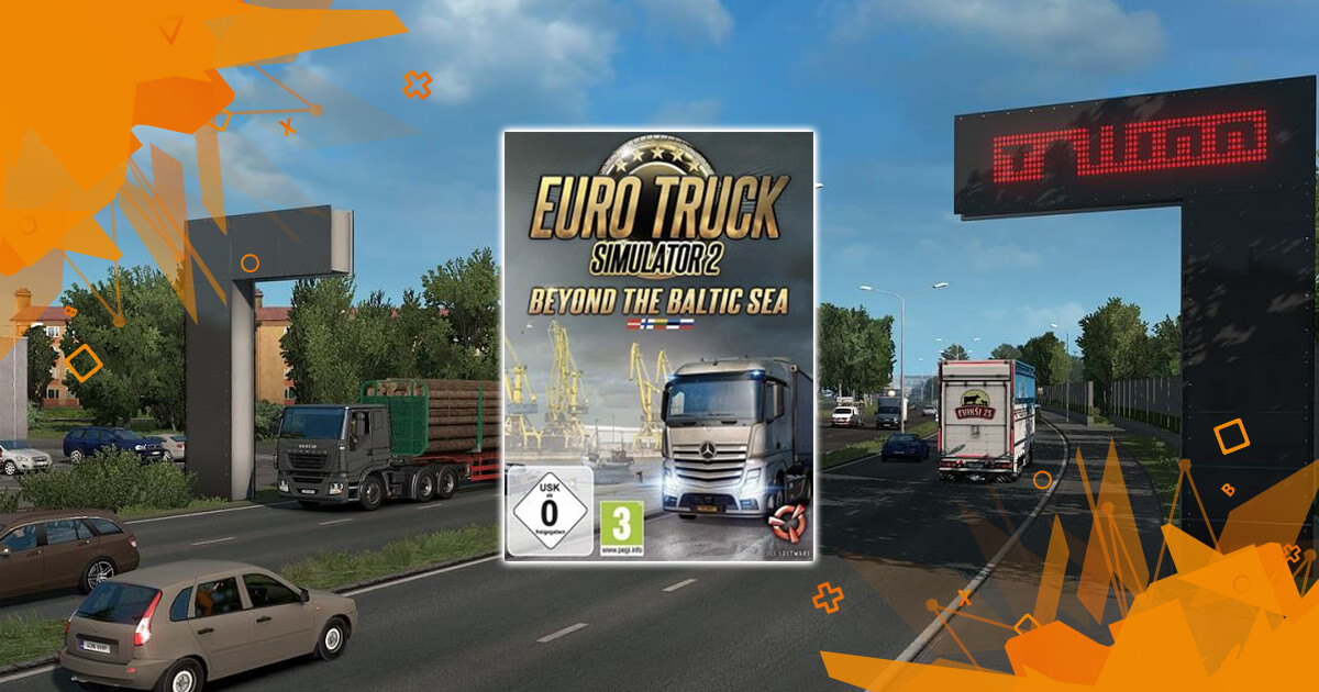 Euro Truck Simulator 2: Beyond The Baltic Sea DLC (PC) | Punktid