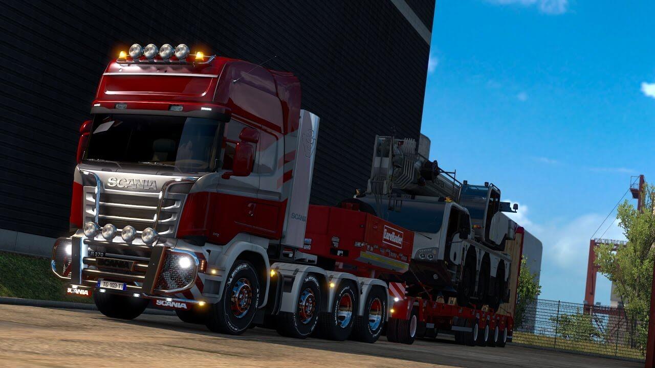euro truck simulator 2 heavy cargo dlc pc punktid. Black Bedroom Furniture Sets. Home Design Ideas