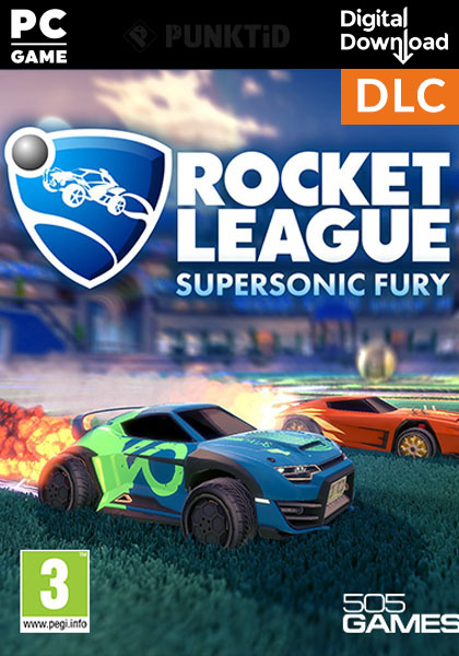 Rocket League Supersonic Fury Dlc Delivery To Your Email