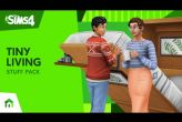 Embedded thumbnail for The Sims 4 - Tiny Living Stuff DLC (PC/MAC)