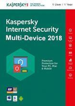 Kaspersky Internet Security Multi-Device 2018 (1 User, 1 Year)