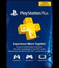 USA PSN Plus 3-Month Subscription Code