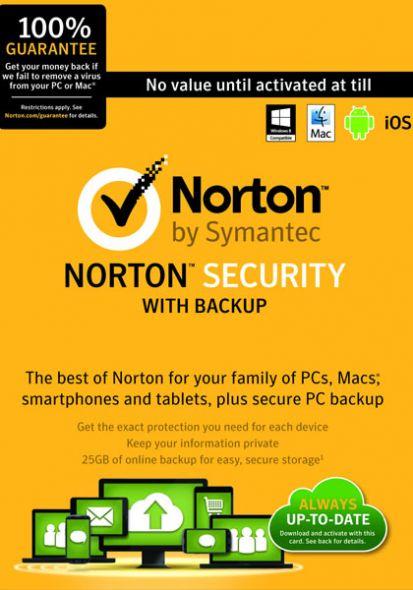 Norton Security (1 user-1 year)