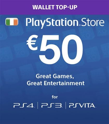 Ireland PSN 50 EUR Gift Card