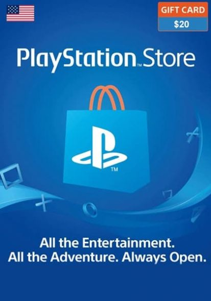 USA PSN 20 USD Gift Card