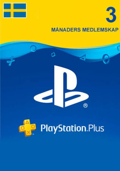 Sweden PSN Plus 3-Month Subscription Code