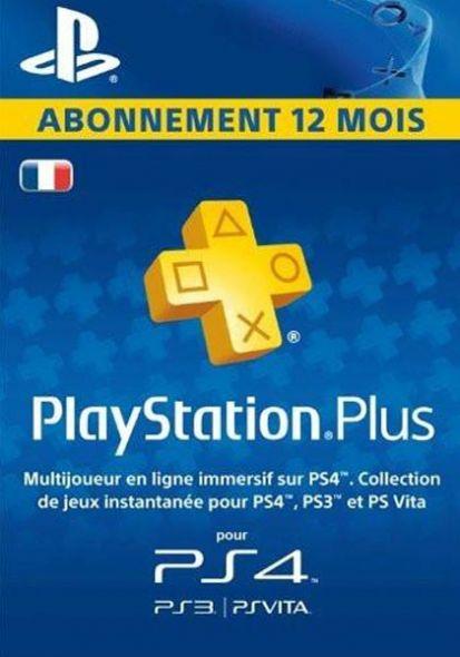 France PSN Plus 12-Month Subscription Code