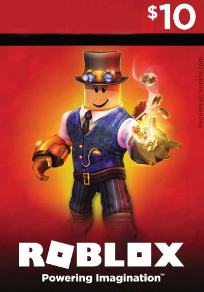 Roblox Game Card USD 10