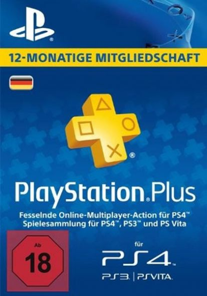 Germany PSN Plus 12-Month Subscription Code