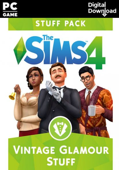 The Sims 4: Vintage Glamour Stuff (PC/MAC)