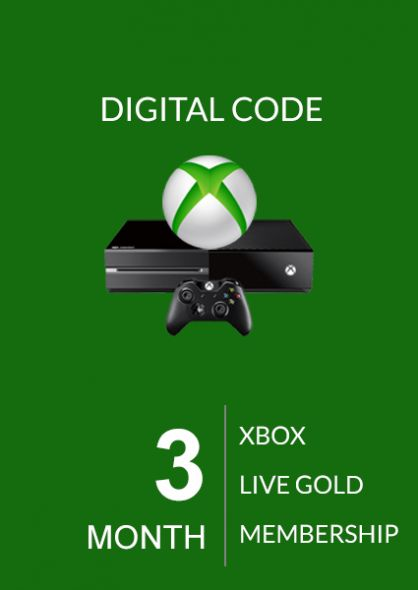 Xbox Live 3 Month Gold Membership (Xbox One & 360) | Punktid