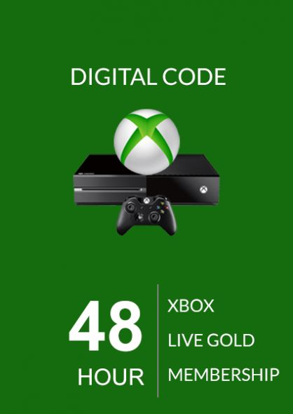 Xbox Live 48 Hour Gold Membership (Xbox One & 360) | Punktid