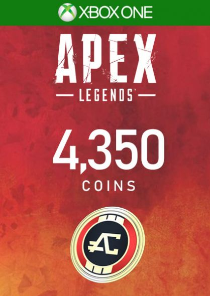 APEX Legends - 4000 Apex Coins (+350 Bonus) - Xbox One