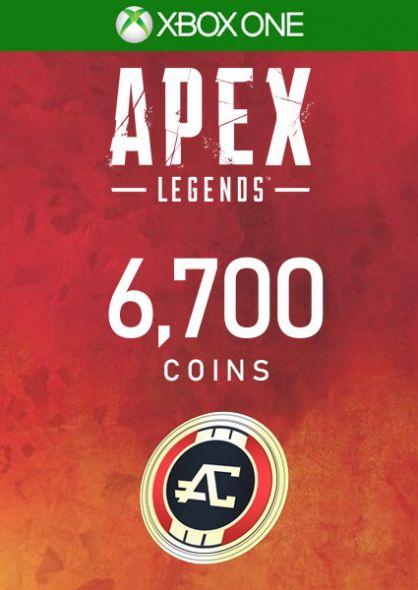 APEX Legends - 6000 Apex Coins (+700 Bonus) - Xbox One