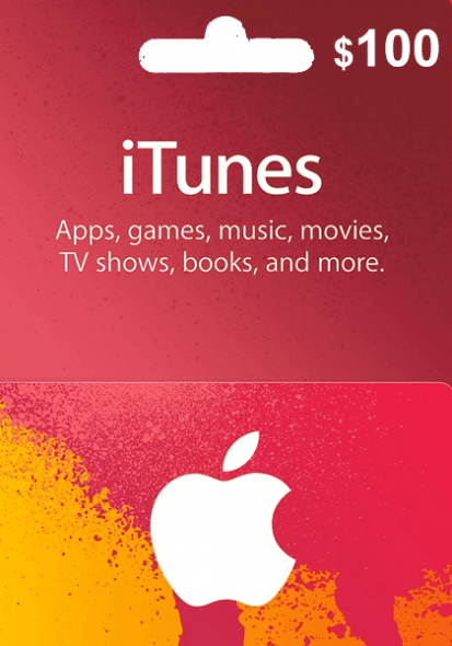 iTunes USA $100 Gift Card