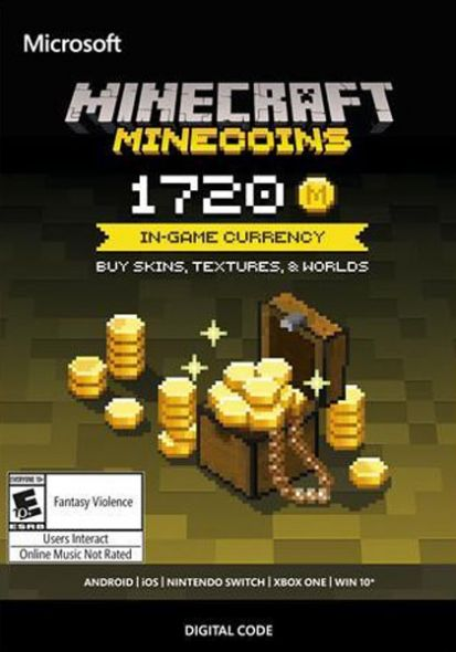 Minecraft - Minecoins Pack 1720 Coins (PC)