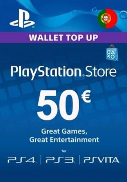 Portugal PSN 50 EUR Gift Card
