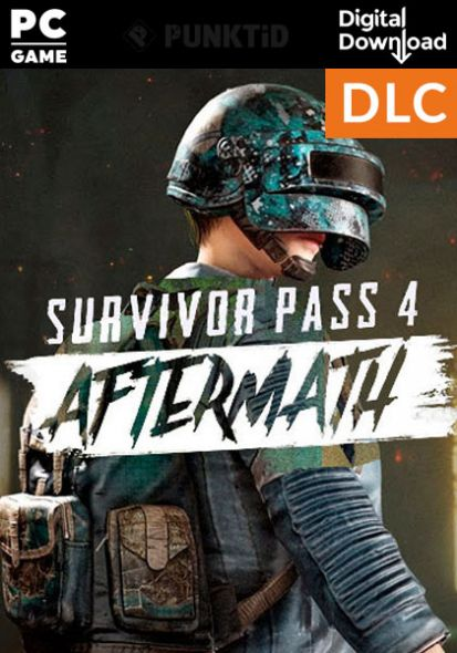 Pubg Survivor Pass 4 Aftermath Dlc Digital Delivery