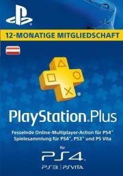 Austria PSN Plus 12-Month Subscription Code