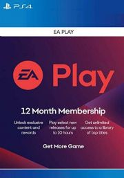 EA Play 12 Month Subscription [PS4/PS5 USA]