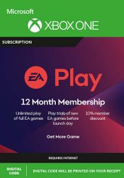 EA Play: 12 Month Subscription (Xbox One)