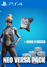 Fortnite Epic Neo Versa Bundle + 2000 V-Bucks [PS4 USA]