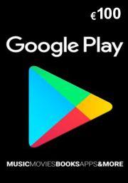 Google Play 100 Euro Gift Card