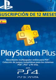 Spain PSN Plus 12-Month Subscription Code