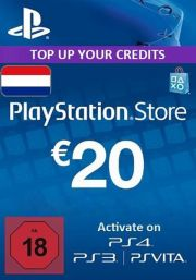Netherlands PSN 20 EUR Gift Card
