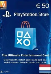Netherlands PSN 50 EUR Gift Card