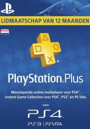 Netherlands PSN Plus 12-Month Subscription Code