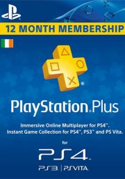 Ireland PSN Plus 12-Month Subscription Code