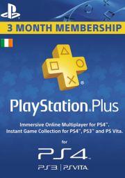 Ireland PSN Plus 3-Month Subscription Code