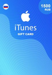 iTunes RUS 1500 RUB Gift Card