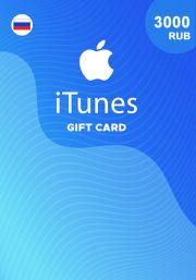 iTunes RUS 3000 RUB Gift Card