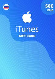 iTunes RUS 500 RUB Gift Card