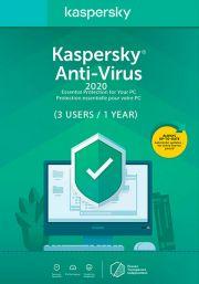 Kaspersky Anti-Virus 2020 (3 Users / 1 Year)