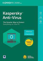 Kaspersky Anti-Virus 2021 (3 Users / 1 Year)