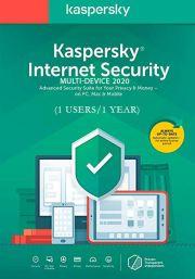 Kaspersky Internet Security Multi-Device 2020 (1 User / 1 Year)