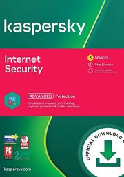 Kaspersky Internet Security Multi-Device 2021 (3 Users / 1 Year)