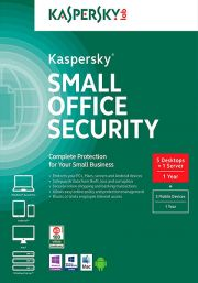Kaspersky Small Office Security 4 (5 users / 1 year)