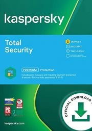 Kaspersky Total Security 2021 (3 Users / 1 Year)