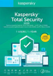 Kaspersky Total Security 2020 (1 User / 1 Year)