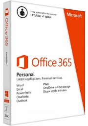 Microsoft Office 365 Personal (1 User / 1 Year) (PC / MAC)