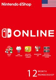 USA Nintendo 12 Month Membership
